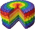 Rainbow cake 3 150px by EXOstock