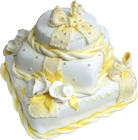 Yellow and white cake 140px by EXOstock
