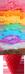 Rainbow ice cream in strawberry 75px