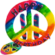 peace! Happy birthday 80px