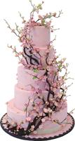 Pink sakura cake 200px by EXOstock
