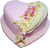 Purple heart cake 50px by EXOstock
