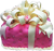 Pink gift cake 50px by EXOstock