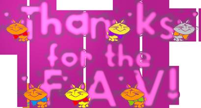 Cat thanks for the FAV