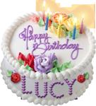 Happy birthday cake for Lucy 150px by EXOstock