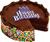 Happy Birthday cake 4 50px by EXOstock