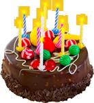 Happy Birthday cake 5 150px by EXOstock