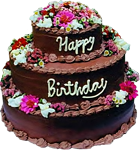 Happy Birthday cake 10 150px