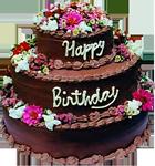 Happy Birthday cake 10 150px by EXOstock