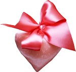 Silk heart with a bow 150px by EXOstock
