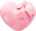 Pink heart with a bow 120px