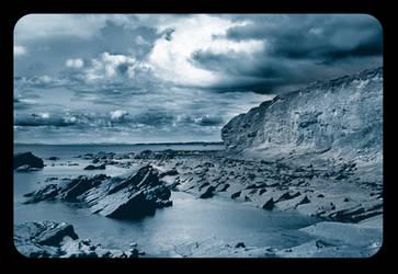 Thunderstorm in Blue by MrsMorzarella