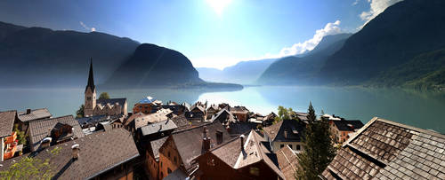Hallstatt Overview by focusgallery
