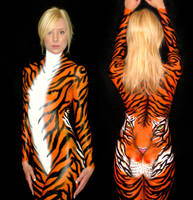 Tiger Bodypaint by NicoVidal
