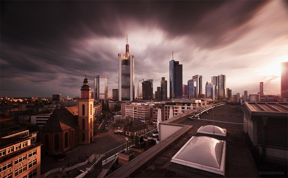 Frankfurt a.M. a thousand times by Regadenzia