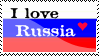 I love Russia stamp by AndyNehr
