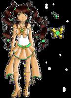 Shining Sailor Jade Deer Reference by TenshiNeera