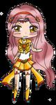 G: Sailor Citrine Koi Chibi by TenshiNeera
