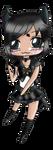 G: Sailor Pearl Panther Chibi by TenshiNeera