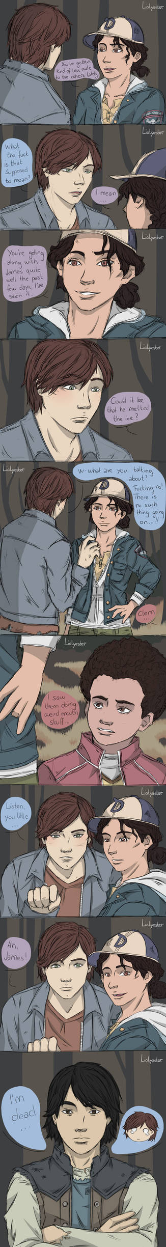 [Telltale TWD] James x Mitch Comic