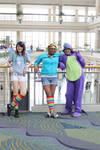 Spike is best Rainbow Dash 2012 Megacon