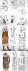 AN sketches by Malinav