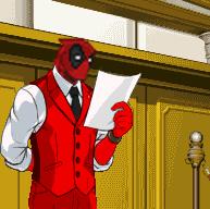 ¿Qué le haría tu pj al de arriba? - Página 15 Deadpool_on_ace_attorney_by_elitecomando-d49qzhr