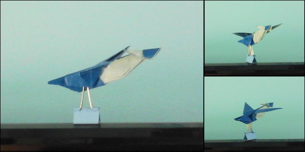 latios origami by otiakaito on deviantart