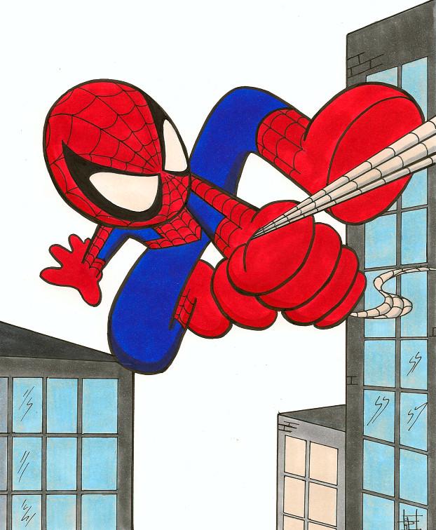 Baby Art Spider Man By Demasduit On Deviantart