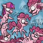 Rude Pinkie Pie