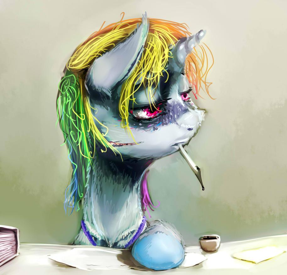 Rainbow Professional Dash by sharpieboss