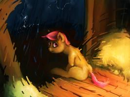 Poor Weather. Good Friends. by sharpieboss