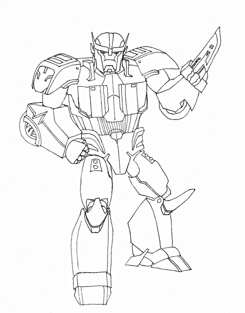 Transformers Prime Ratchet Coloring Pages