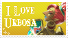 I love urbosa stamp by Soulfire402