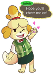 Cheer for Isabelle