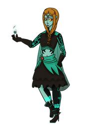 Magical Midna [COLLAB] by Soulfire402
