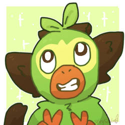 Grookey Icon by Soulfire402