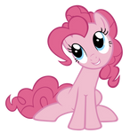 Pinkie-Pie likes to sit