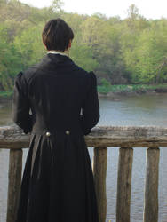 Traveler Coat back view by renaissancegirl14