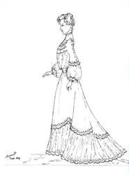 Gibson Girl 2 by renaissancegirl14
