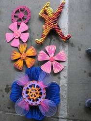 Gear Flowers 2 by renaissancegirl14