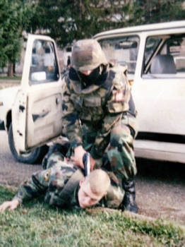 MILITARY POLICE DRILL YEARS