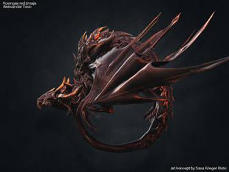 Dragon koncept by Kriegerman