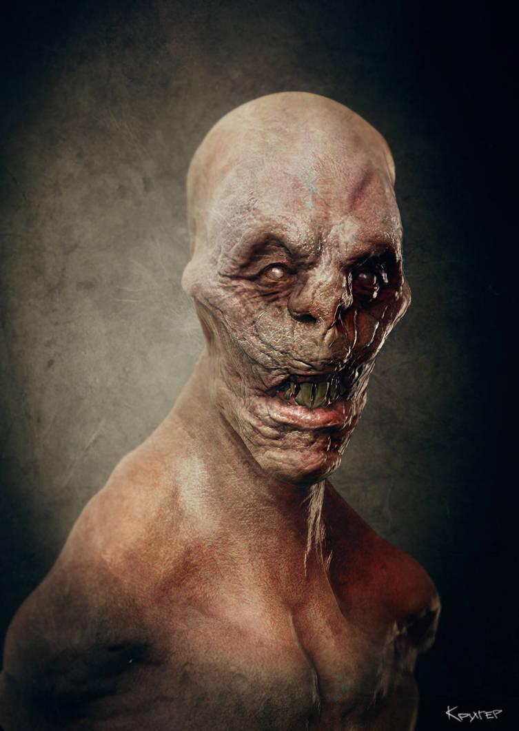Demon Concept by Kriegerman