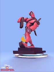 Deadpool Disney Infinity fan art