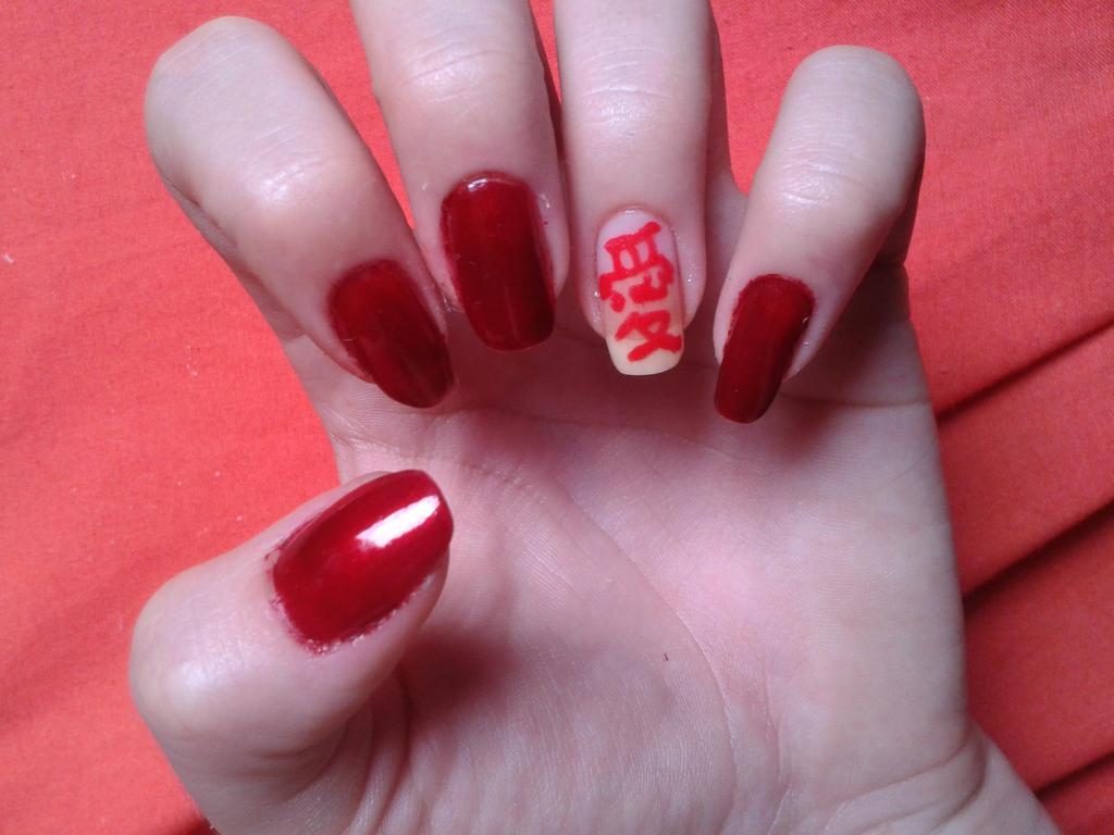 Gaara Nails by darthteti on DeviantArt