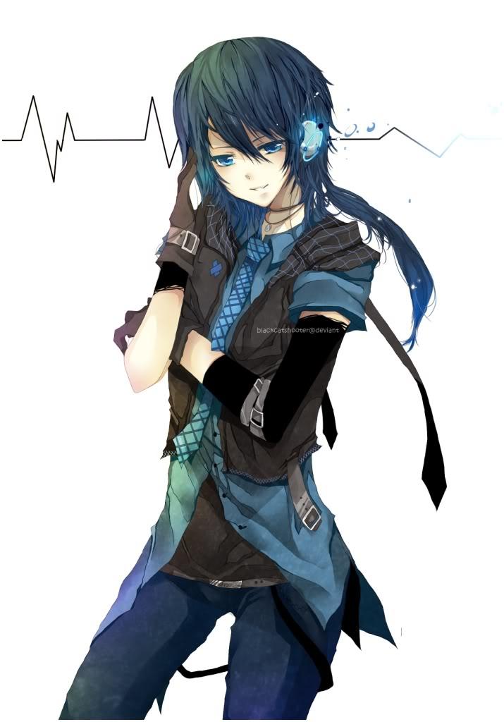 Anime Boy With Headphone By Peterrustoen