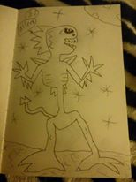 THE Nuleakew alien. by peterrustoen