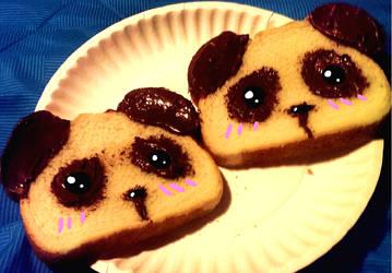 Panda Nutella Toast