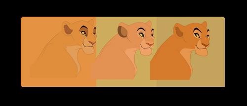 Simba's Three Daughters